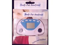 Digital Body Fat Analyzer