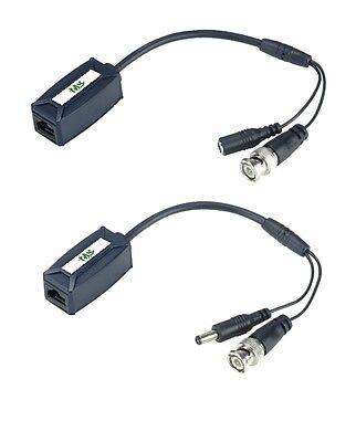 TTP111VP-LK CCTV BALUN. DIY Kit Video & Power Transceiver over one CAT5 Cable Balun Transceiver Kit