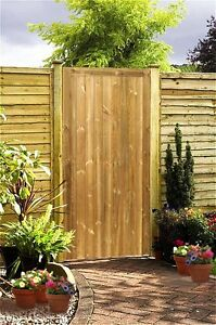 6ft-x-3ft-Heavy-Duty-Timber-Garden-Side-Gate-High-Quality-Planed-Square-Topped