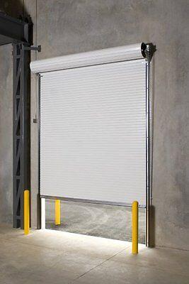 DuroSTEEL JANUS 8' Widespread off the mark by 10' Multi-storey 2000 Series Commercial Annals-up Door Open