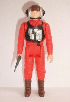 Vintage Star Wars Complete B-Wing Pilot Action Figure - 1984 - C9+ - No COO