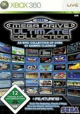 xbox 360 SEGA MEGA DRIVE Ultimate COLLECTION 40 SPIELE Top Zustand (Sega Collection Xbox 360)