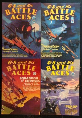 G-8 and his Battle Aces -  Adventure House pulp reprints 8-54 $5.99 each