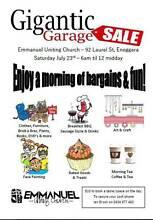 Gigantic Garage Sale Enoggera Brisbane North West Preview