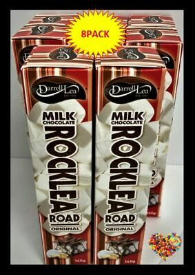 DARRELL LEA ROCKLEA ROCKY ROAD MILK CHOCOLATE  145G X 8PACK