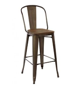 INDUSTRIAL TOLIX BAR STOOL COUNTER STOOL DINING CHAIR