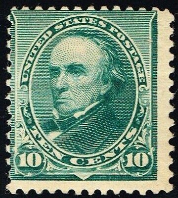 Us Sc  226  Mint Og Nh    10C D  Webster   Bank Note Of 1890  Scarce Cv  525 00