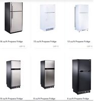 Propane Fridges, Freezers and Ranges at a Great Price!