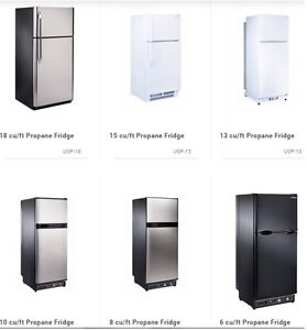Solar & Propane Fridge/Freezer Off Grid Appliances