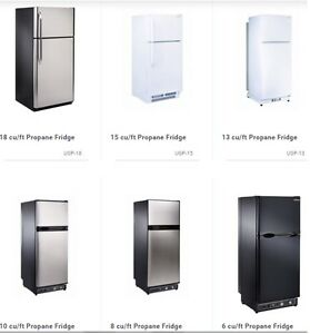 Solar & Propane Fridges, Freezers and Ranges