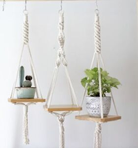 Macrame-Jardiniere plan hanger for 15 and UP!