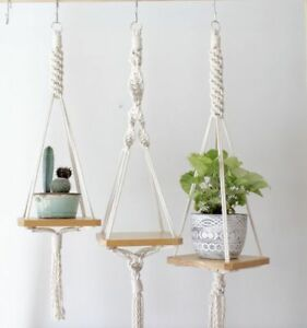 Beau/Beautiful/Bello macrame plant hanger for 15 and UP!