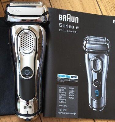 Braun Men's Shaver Series 9 9297Cc 4-Blade Glossy Finish AC100V - 240V