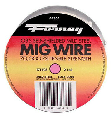 Forney 42302 Flux Cored Mig Wire 0.035 2 Lbs