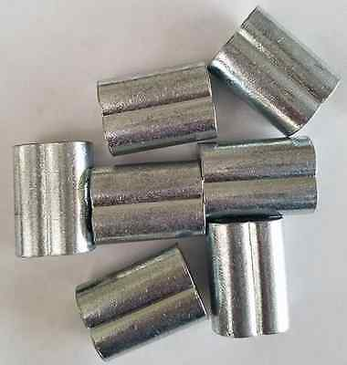 Zinc Plated Copper Swage Crimp Sleeves For Wire Rope Cable 316