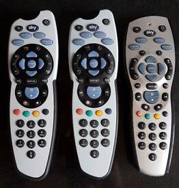 Sky+ Remotes