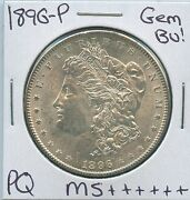 1896 P Morgan Silver Dollar