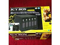 IcyBox 5 bay SATA/SAS HDD backplane-enclosure