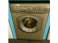 Sliver Hotpoint 7kg washing machine
