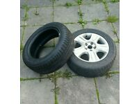Ford Galaxy 2004 alloy ans steel wheel tyre