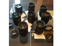 Joblot 8 x Nikon AF D 35-70mm f/2.8 D AF Lens lot spare repairs bundle FREE uk delivery