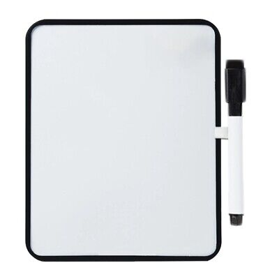 Dry Erase Board With Marker - Magnetic Whiteboard 8.5x11 Inches
