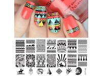 Nail stamping items for sale (stamping plates,stampers and stamping polish)