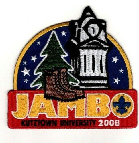 BSA Hawk Mountain Council Pennsylvania, Kutztown University 2008 Jambo Patch