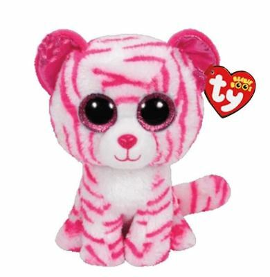 Leopard 6 Ty Beanie Boos Whiskers Puppy Glitter Eyes Plush Stuffed Animals Toys