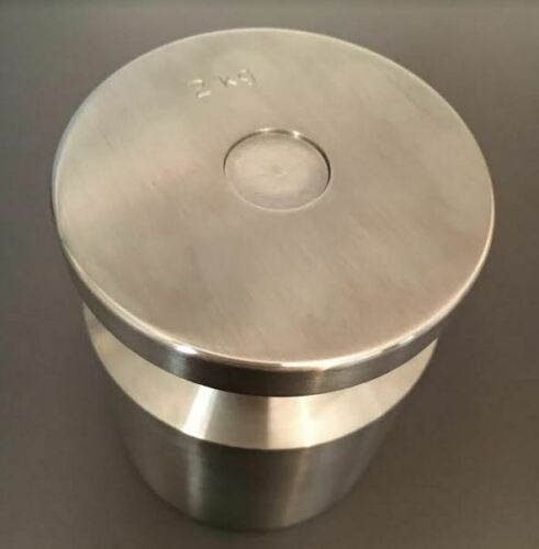 2KG stainless steel calibration weight
