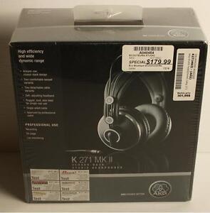 Écouteurs Professionels AKG Modele: k271mk2 (a040454)