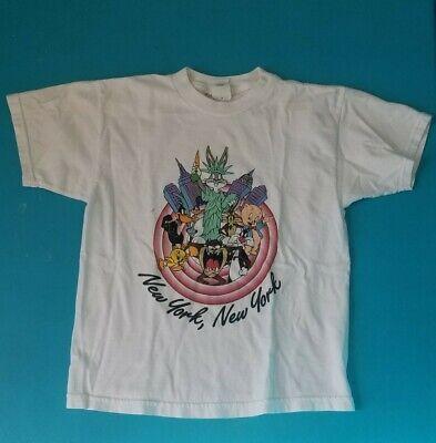 Looney Tunes New York, New York 90s Vintage NYC Warner Bros Studio Store Kid Tee