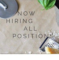 Hiring for All Kitchen Positions!