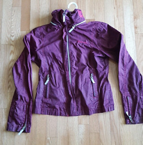 Size L Purple Bench Jacket Fits Small