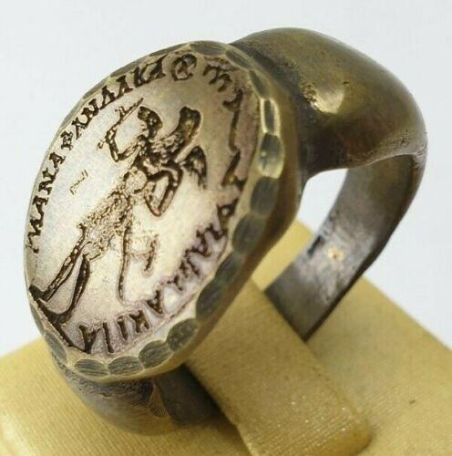 Ancient Bronze Ring-Vintage-Antique ROMAN-BRONZE