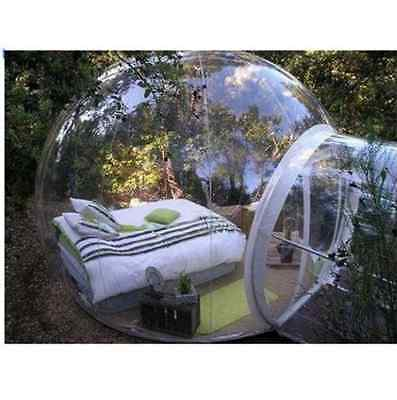 Inflatable Eco Home Tent DIY House Luxury Dome Camping Cabin Lodge Air Bubble - Diy Camping Tent