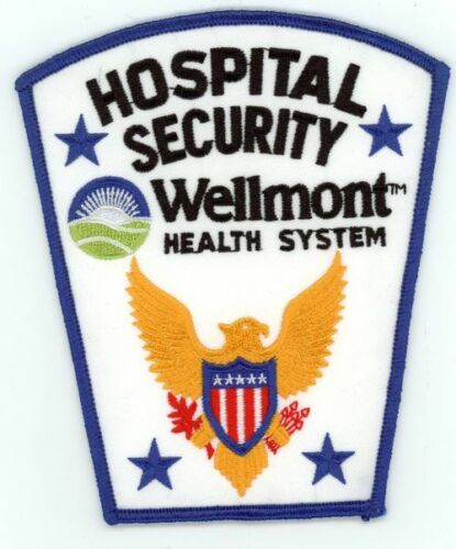 WELLMONT HEALTH SYSTEM HOSPITAL SECURITY TENNESSEE TN NICE PATCH POLICE SHERIFF