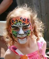 Balloon Twisting, Face Painting, Glitter Tattoo, Painted Tattoos