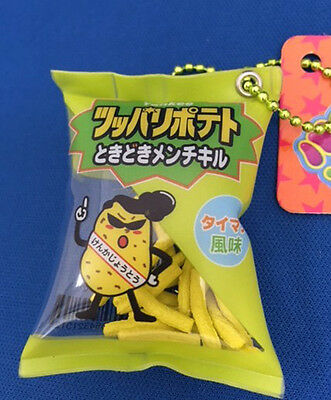 "Fake-food Strap Japanese Snacks""French Fries"" Non squishy"