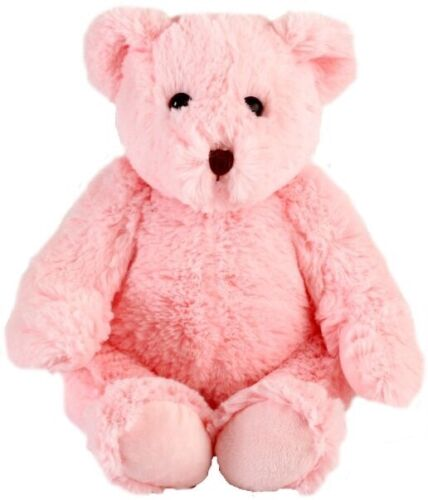 "Lot of 12 Wholesale 10-12"" Plush Stuffed Teddy Bears Bear Toys - Pink Bear"