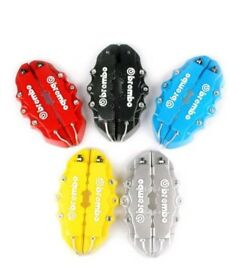 4Pcs Pro Disc Brake 3D Cars Parts Caliper Covers Front Rear Car Set Hot Sell