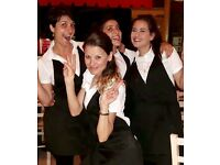 BUON GIORNO, FRIENDLY WAITRESS REQUIRED TO JOIN OUR TEAM in Fulham SW6