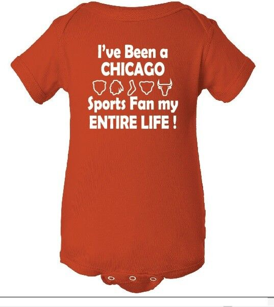NFL CHICAGO BEARS Sports Fan Baby Creeper Bodysuit Clothing