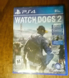 Watch dogs 2 ps4 -brand new-
