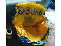 Collectible Beatles Yellow sub Inflatable chair