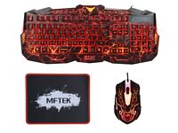 GAMING KEYBOARD AND MOUSE SET GREAT CHRISTMAS PRESENT