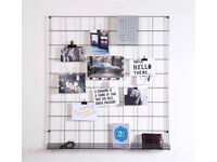 Wire Mesh notice board (RRP £49) BRAND NEW