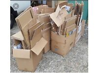 Cardboard Boxes House Move free uplift