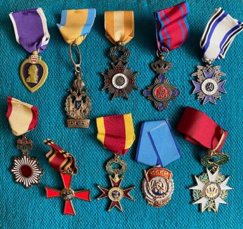 WWII Medals (Replicas)