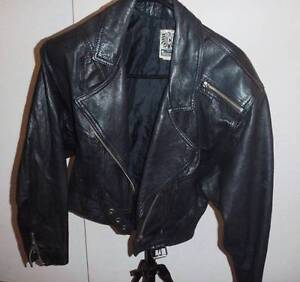 Women's leather jacket as new. Size 10 Petersham Marrickville Area Preview